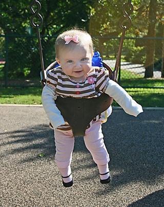 Camille swinging