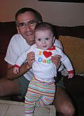 Sebastian luvs Dad