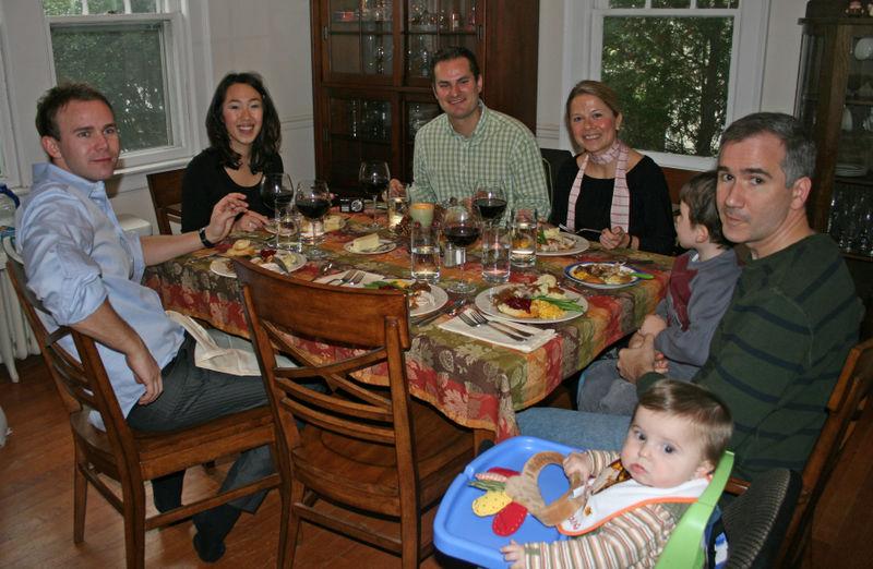 Our Norwegian friends joined us for dinner