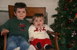 Sebastian & Camille Christmas tree