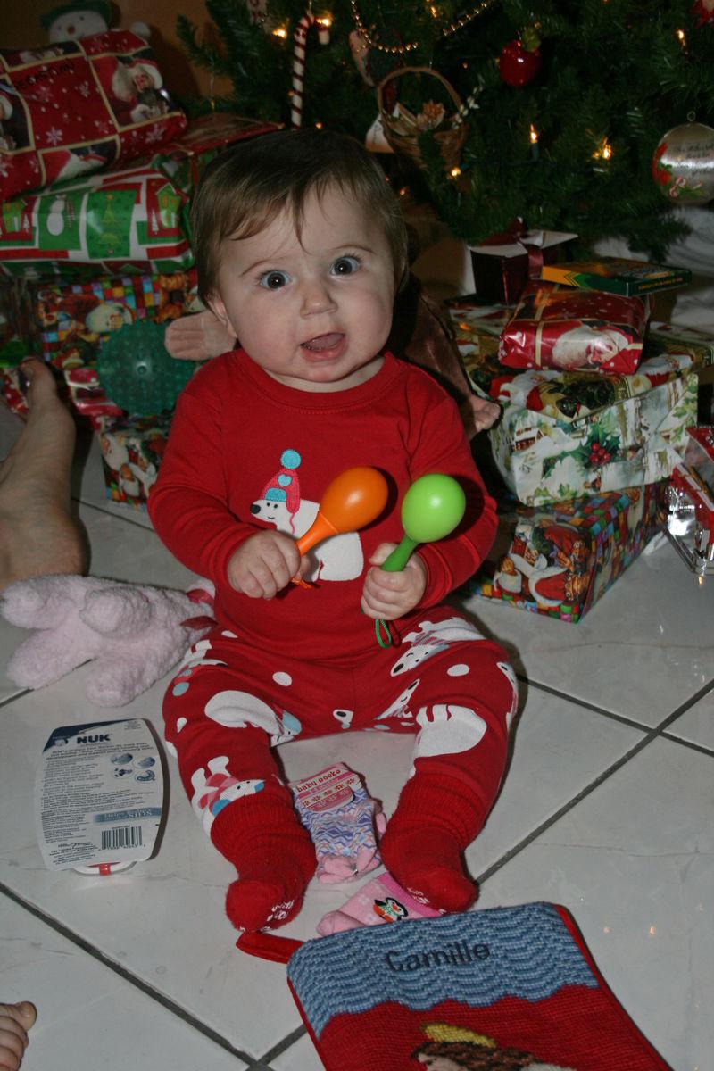 Maracas on Christmas morning!