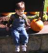 Sebastian_and_our_pumpkin_102107