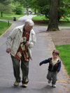 Running_with_grandpere